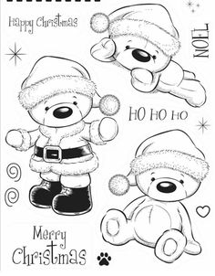 Free color santa peek a boo clipart.  best xmas prints