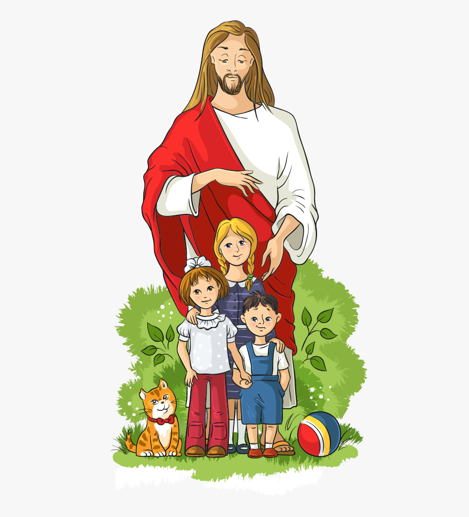 Free colorful kids bible clipart. And illustration royalty vector
