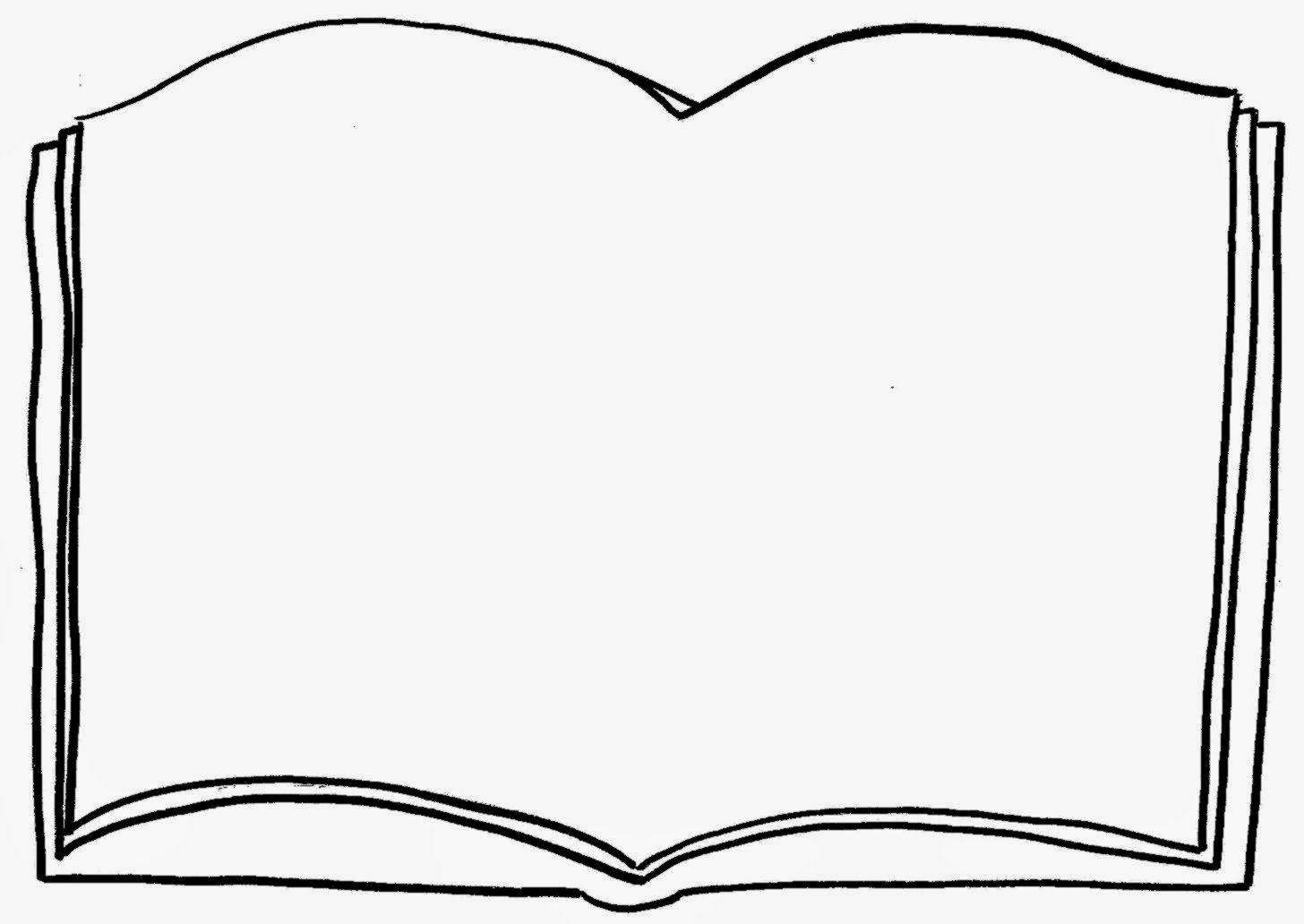 Free coloring pages clipart clip art royalty free library Open book coloring page free coloring pages clip art - Clipartix clip art royalty free library