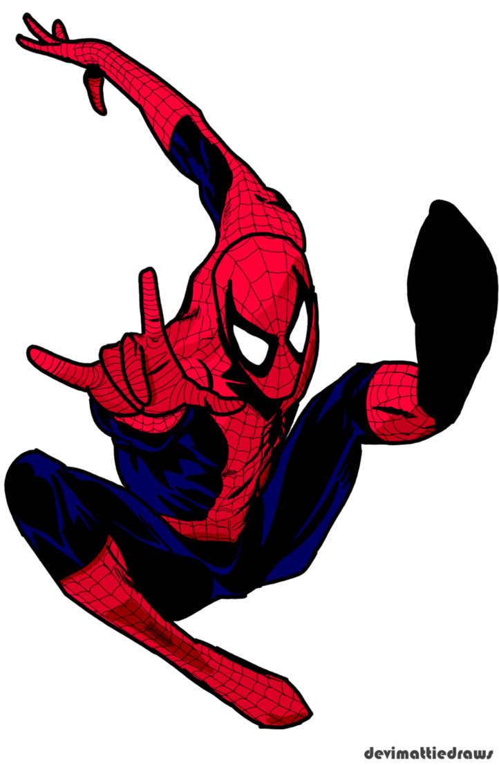 Free comic book clipart jpg royalty free Spider-Man Free Comic Book Day 2007 Redraw by DeviMattie on DeviantArt jpg royalty free