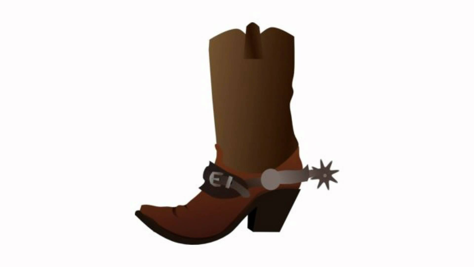 Free commercial use cowboy spurs clipart. Cartoon boots with n