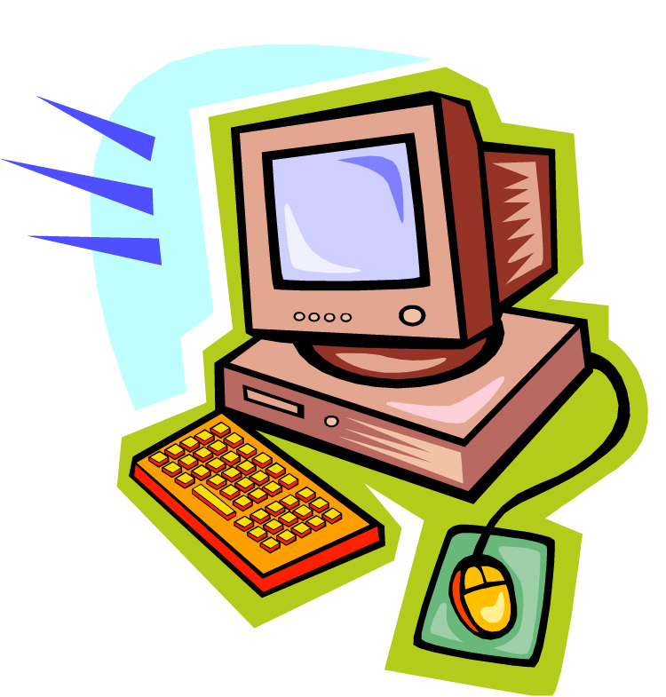 Pictures of computers kids. Free computer clipart for teachers