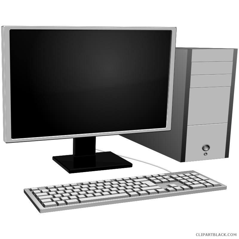 Free computer keyboard clipart svg freeuse library Computer Keyboard Clipart - ClipartBlack.com svg freeuse library