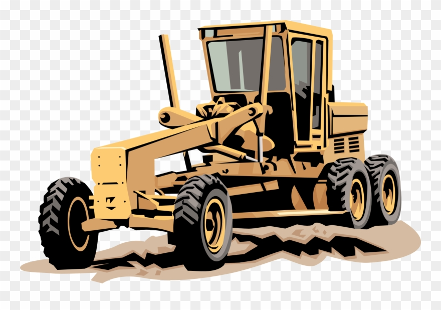 Machinery clipart free black and white library Heavy Equipment Clip Art - Heavy Equipment Clip Art Free - Png ... black and white library