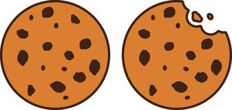 Free cookie clipart vector transparent stock Cookie Clip Art Free | Clipart Panda - Free Clipart Images vector transparent stock