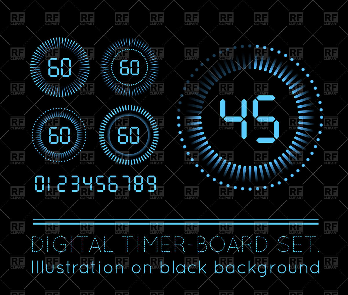 Free countdown clipart png royalty free Countdown Timer Clipart - Clipart Kid png royalty free
