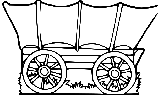 Free covered wagon clipart. Cliparts download clip art