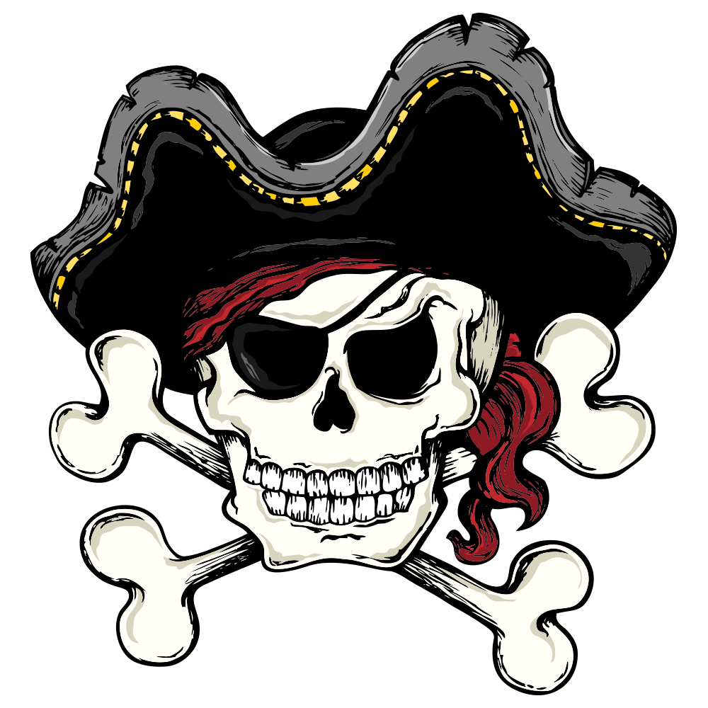 Skull and cross bones clipart clipart royalty free library Skull and Bones Skull and crossbones Piracy Clip art - Pirate skull ... clipart royalty free library