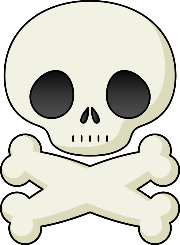 Free cross bones clipart svg royalty free Skull And Crossbones | Free Stock Photo | Illustration of a skull ... svg royalty free