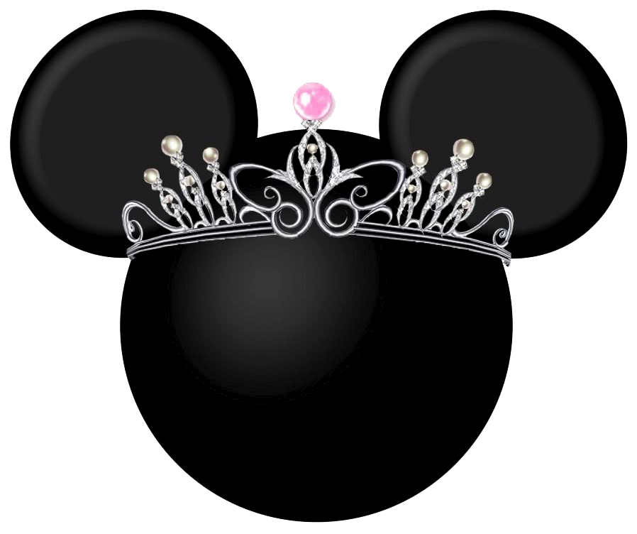 Free crown clipart black and white picture transparent Crown Clipart minnie - Free Clipart on Dumielauxepices.net picture transparent
