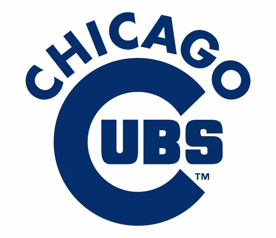 Free cubs logo clipart. Chicago wordmark blue png