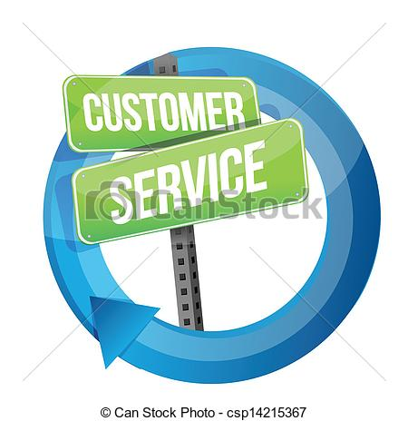Free customer service clipart images free download Clip Art Vector of customer service road sign cycle illustration ... free download