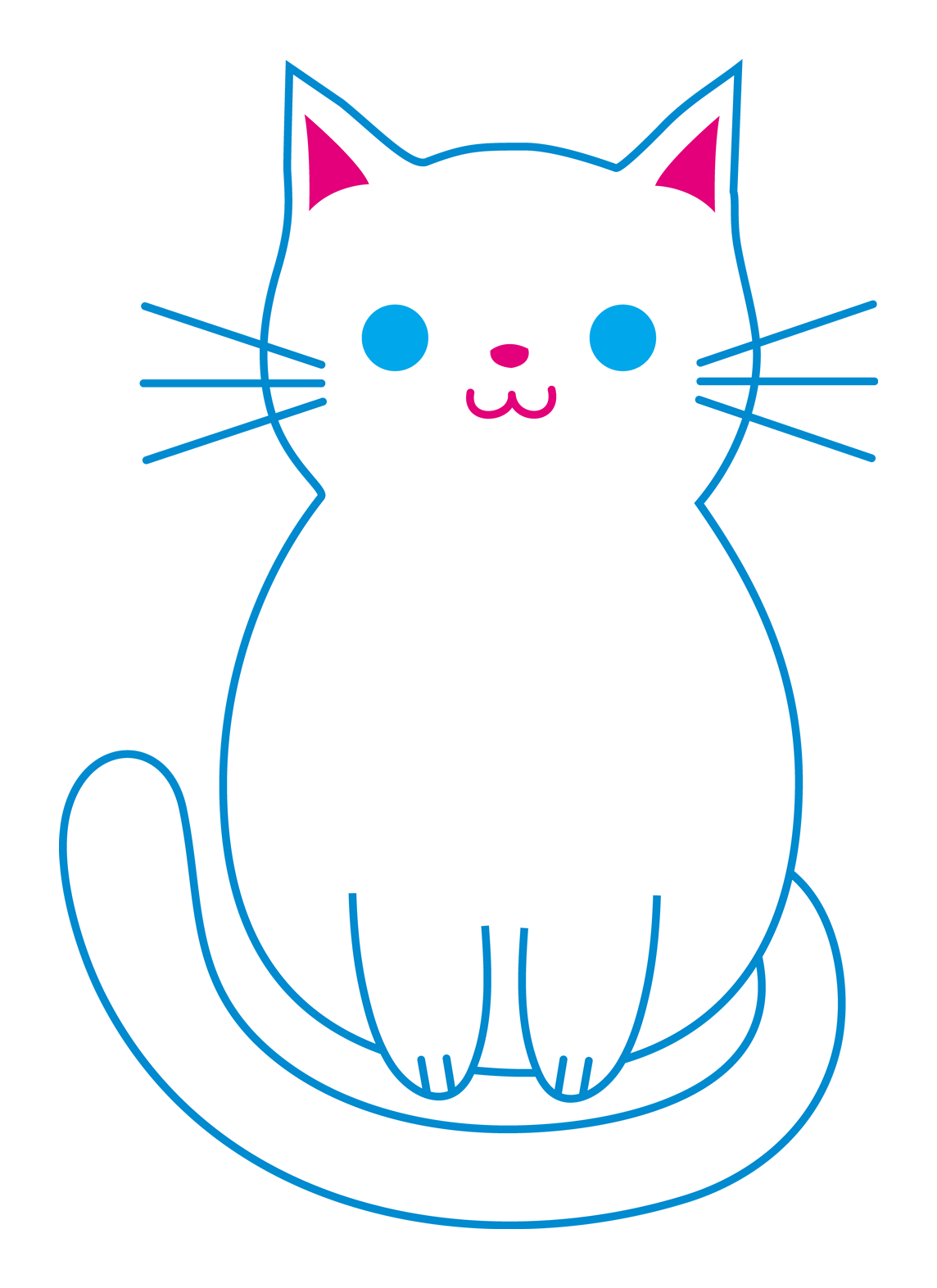 Cartoon cat sitting clipart clip art free stock Clip Art Transparent Background & Clip Art Transparent Background ... clip art free stock
