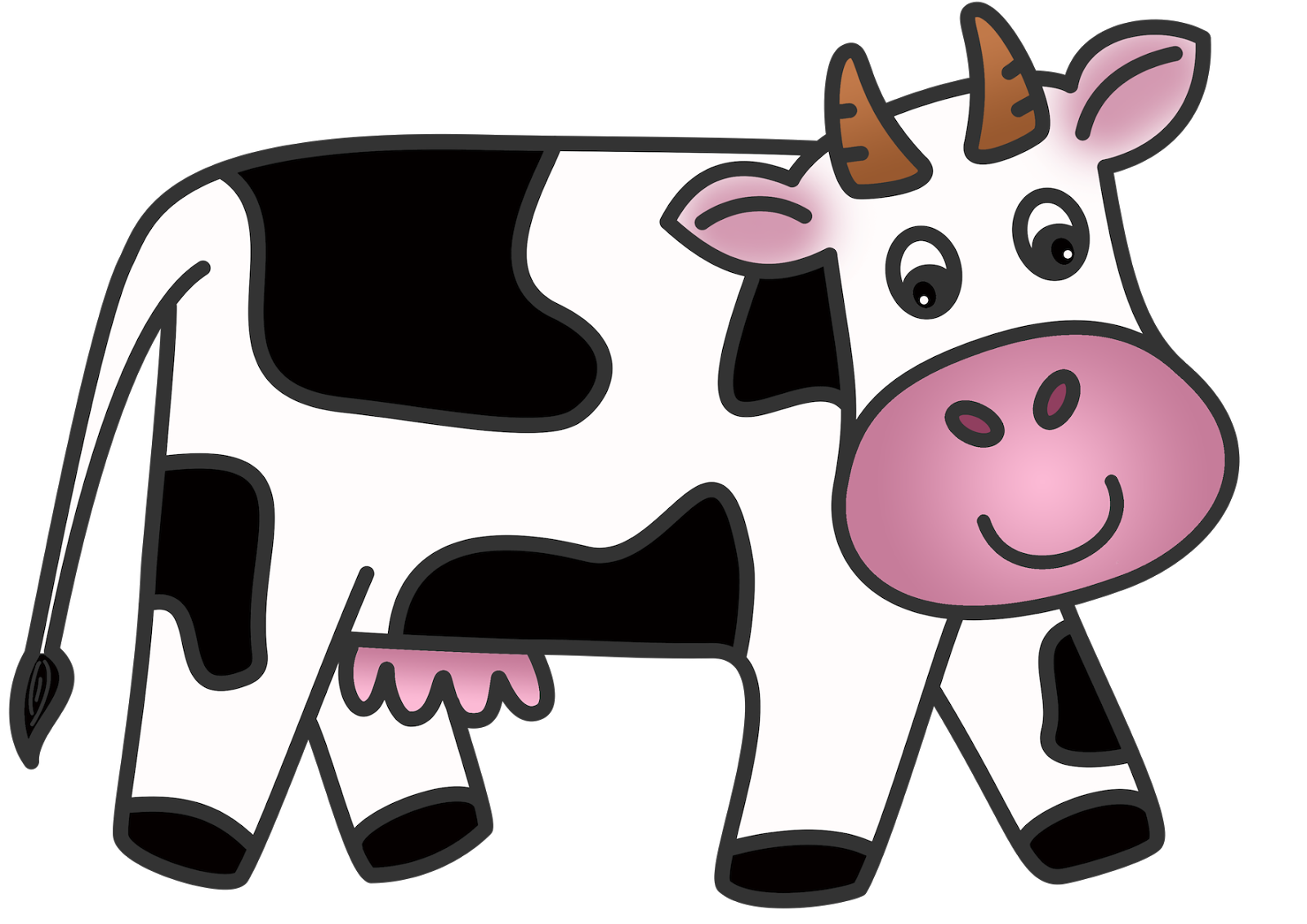 Free cute cow clipart svg freeuse download Free Cow Cliparts, Download Free Clip Art, Free Clip Art on Clipart ... svg freeuse download