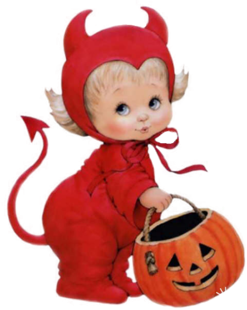 Free cute devil halloween clipart transparent library Клипарт PNG - Детки художницы Ruth Morehead | moreheads ... transparent library
