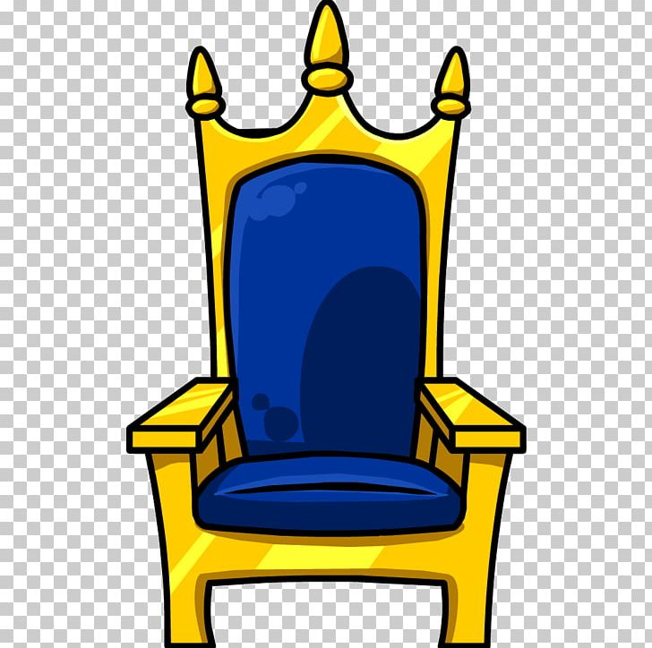 Free cute king on a throne clipart. Table chair png cartoon