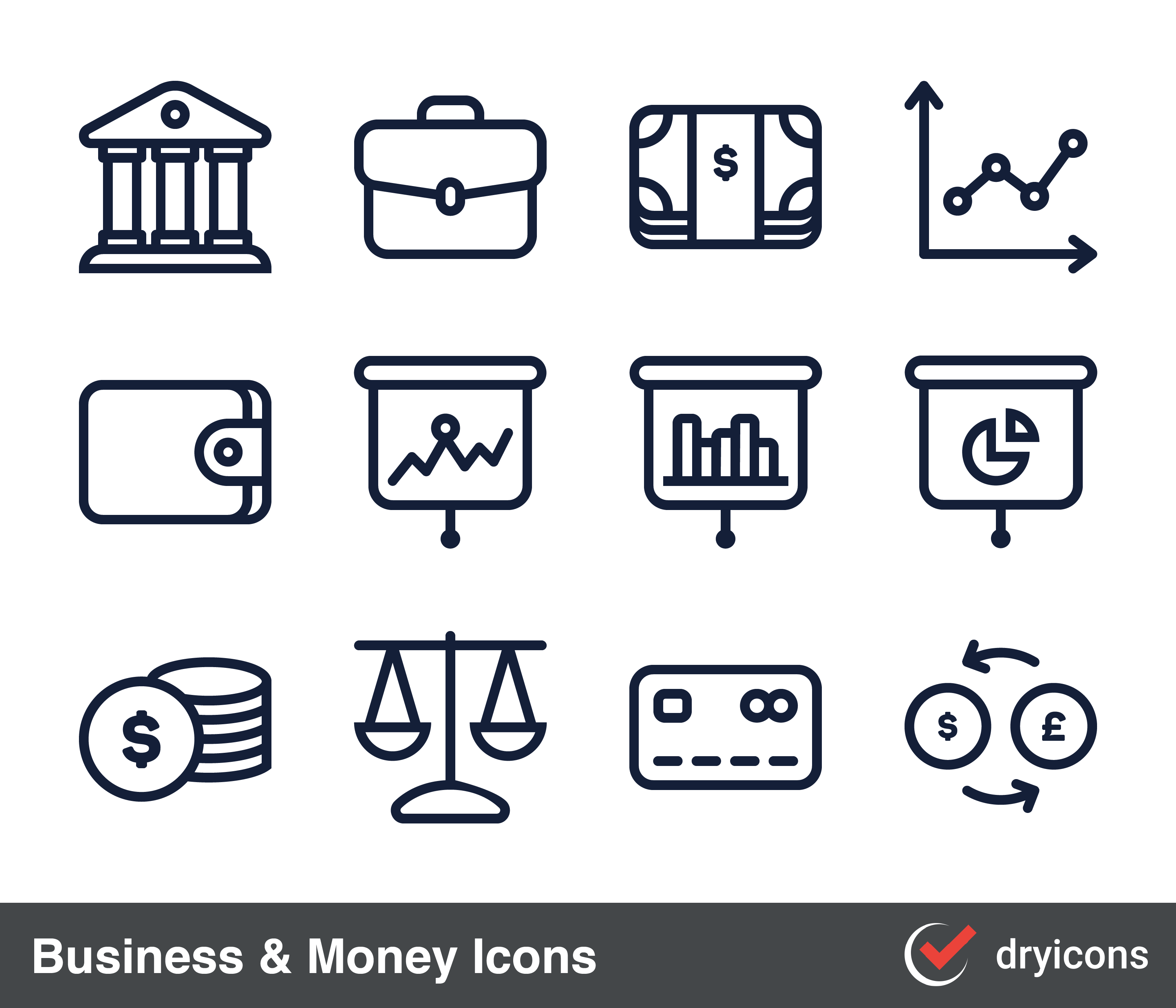 Free cute money bag icon vector clipart graphic freeuse download DryIcons.com — Icons and Vector Graphics graphic freeuse download