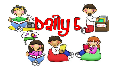 Free daily 5 clipart png library Free Daily Five Signs and matching Leveled Book Bin Labels-has ... png library