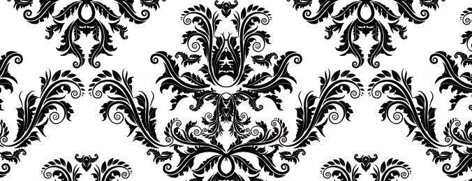 Free damask oards navy blue grey & white clipart vector transparent stock seamless damask pattern shop | Inspirations | Free vector patterns ... vector transparent stock