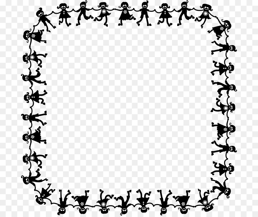 Free dance clipart borders. Border design black and