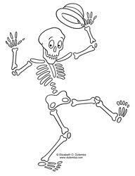 Free dancing skeleton clipart banner dancing skeleton - Startpage Picture Search | Skeleton Poses ... banner