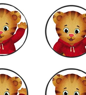Free daniel tiger clipart svg stock Free Daniel Tiger Birthday Party decor Printables   Kids Parties ... svg stock