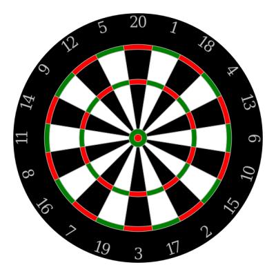 Free dart board clipart banner transparent download Free Dartboard Png, Download Free Clip Art, Free Clip Art on Clipart ... banner transparent download