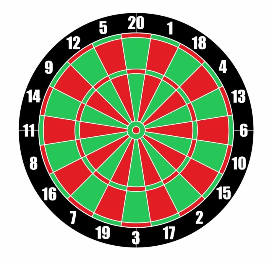 Free dart board clipart png free library Vector Dartboard Target Darts Png Image - Dart Board Clipart Png ... png free library