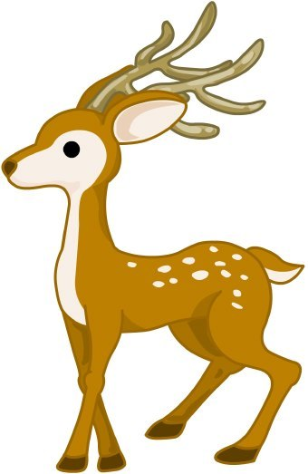 Free deer clipart images.  clipartlook