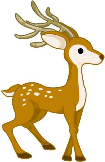 Clip art image cliparting. Free deer clipart images