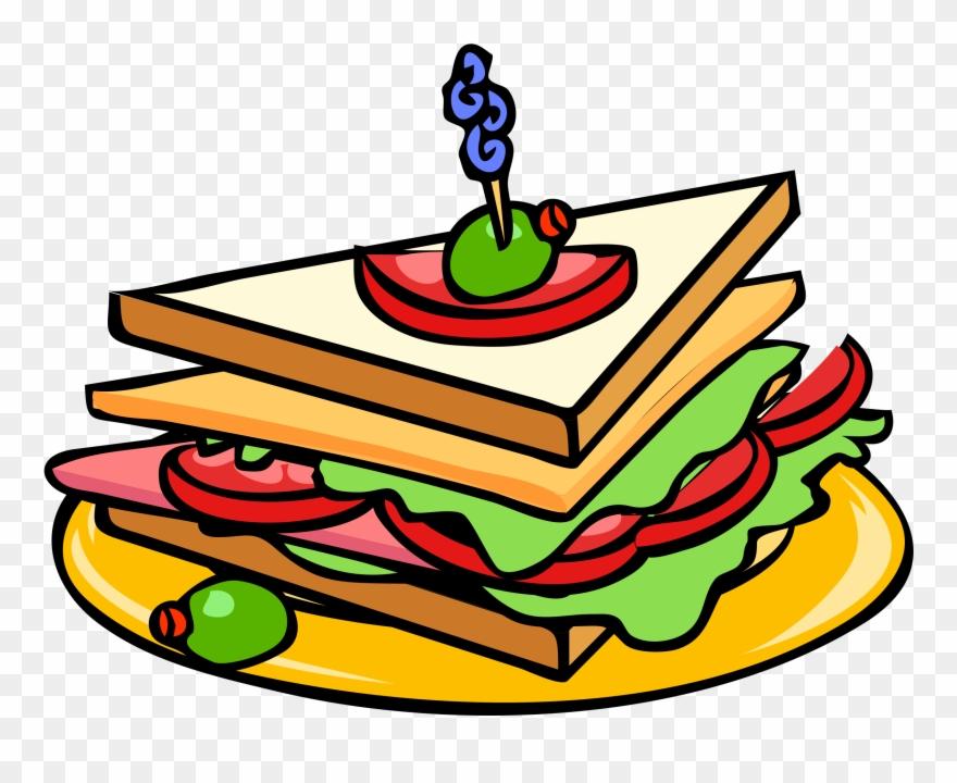 Free deli clipart svg transparent Meal Clipart Deli - Sandwich Clipart - Png Download (#25587 ... svg transparent