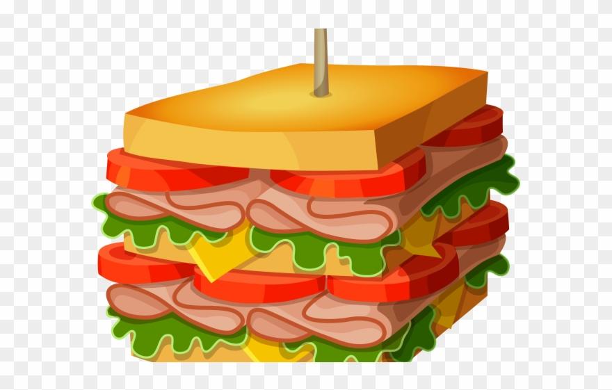 Free deli clipart clipart free stock Peanut Clipart Sandwich - Deli Sandwich Clip Art - Png Download ... clipart free stock