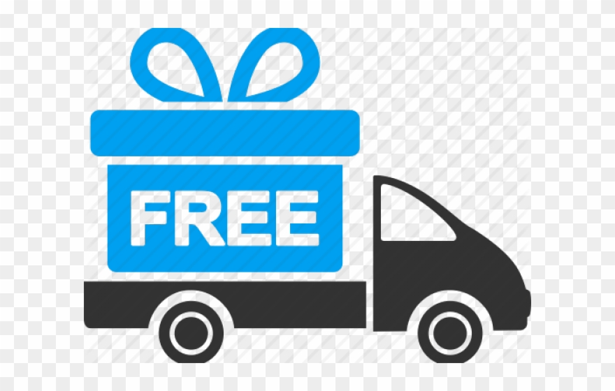 Free delivery clipart. Shipping truck icon png