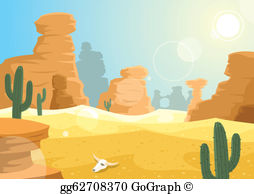 Free desert clipart clip royalty free download Desert Clip Art - Royalty Free - GoGraph clip royalty free download