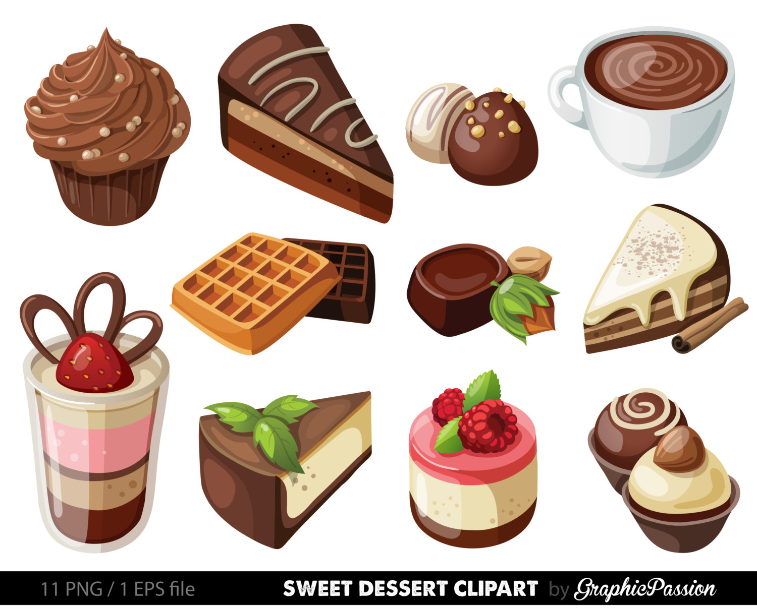 Free dessert clipart images svg royalty free stock Free Dessert Food Cliparts, Download Free Clip Art, Free Clip Art on ... svg royalty free stock