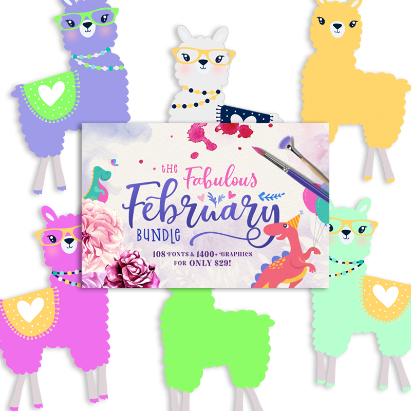 Free digital clipart clip royalty free download You\'re a Llama fun Freebie Collection! - Free Pretty Things For You clip royalty free download