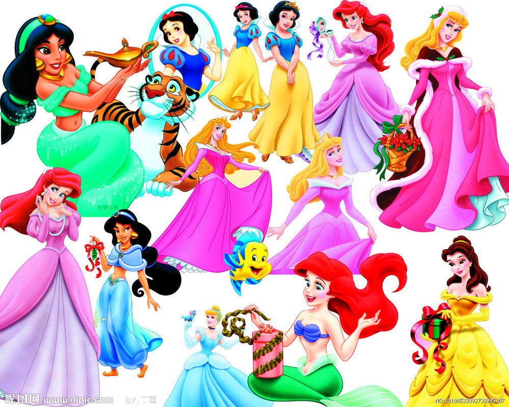 Free disney belle clipart jpg download Disney Princess | Disney Princess - Clipart PSD by Alce1977 on ... jpg download