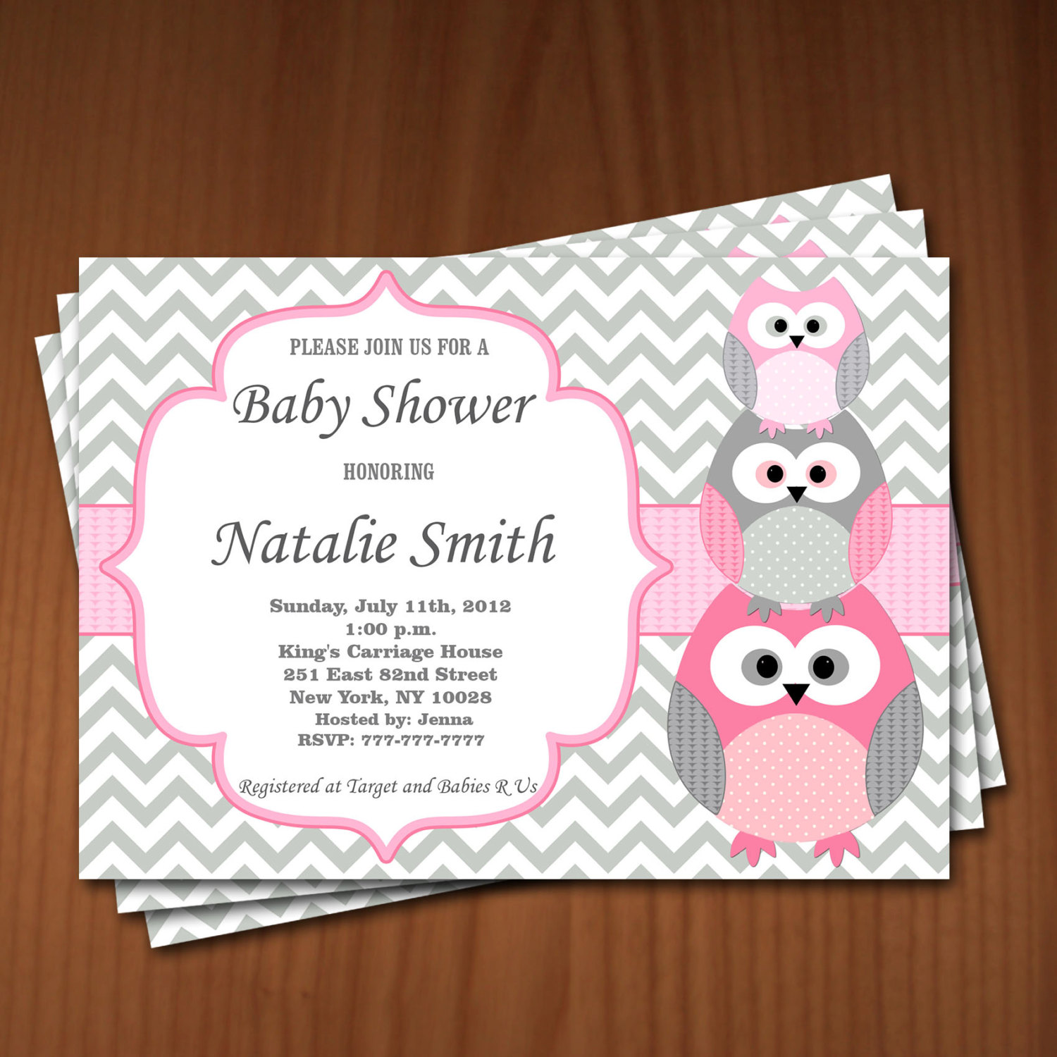 Free diy girl baby showers owls clipart jpg free library Cheap Baby Girl Shower Invitations | THERUNTIME.COM jpg free library
