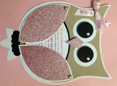 Free diy girl baby showers owls clipart jpg black and white library Baby girl owl center pc | Crafts | Pinterest | Girls, Centerpieces ... jpg black and white library