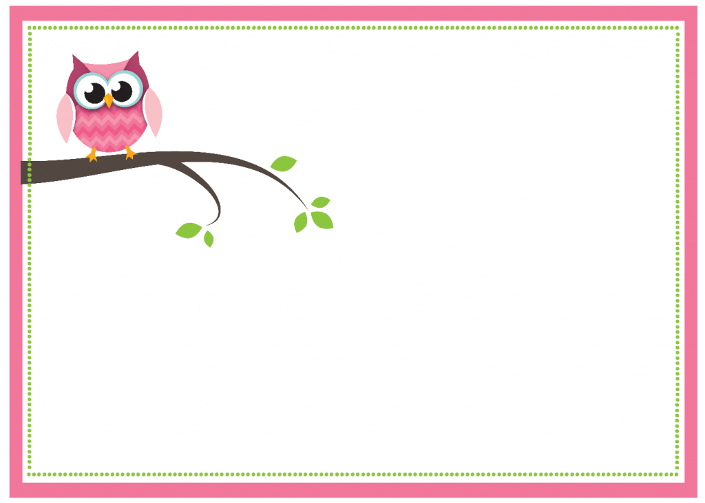 Free diy girl baby showers owls clipart picture free Free Printable Owl Baby Shower Invitations picture free