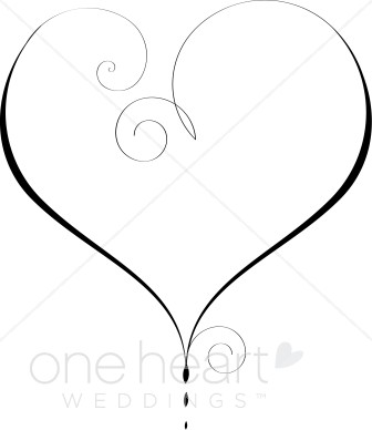 Free double heart wedding clipart vector transparent library Heart Clipart, Heart Graphics, Heart Images - The Printable Wedding vector transparent library