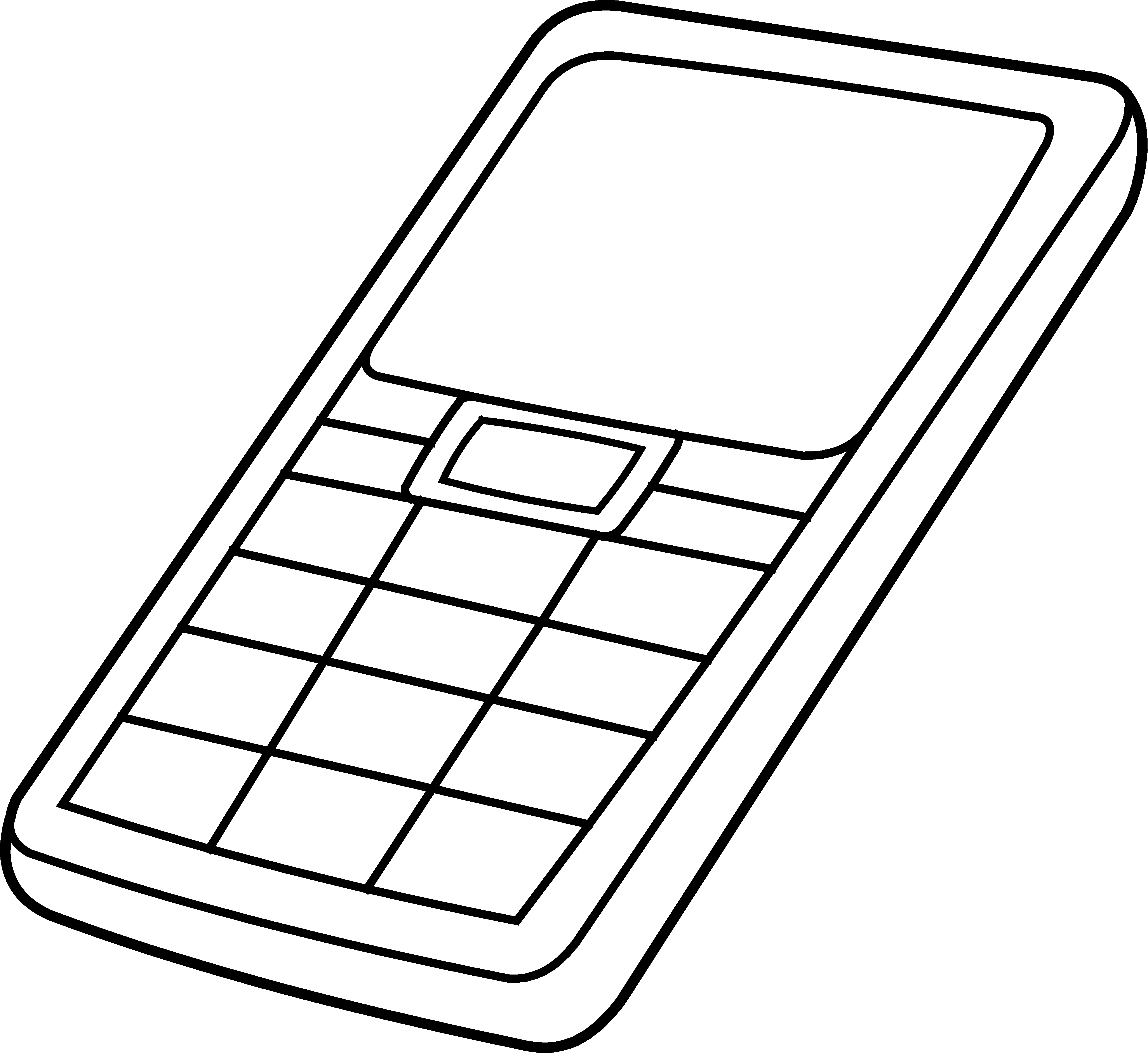 Cell phone clip art. Free download clipart for mobile