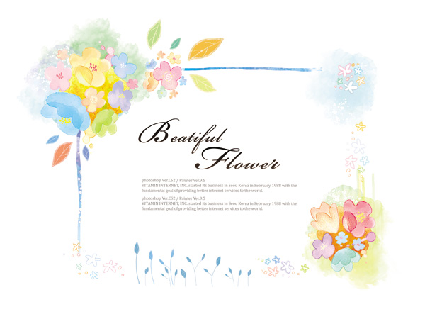 Free download flower background clipart download Flower PSD File free download clipart download