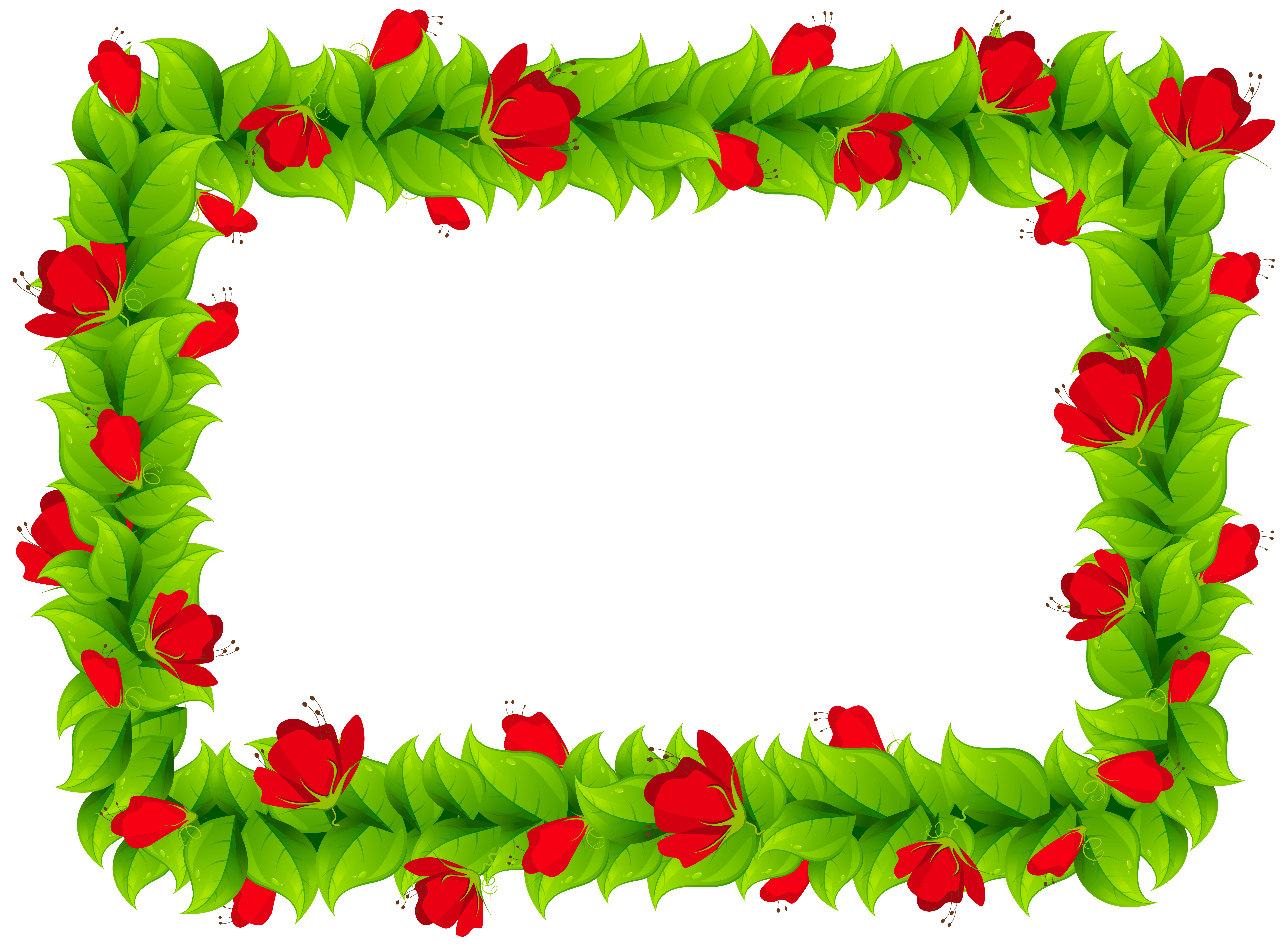 Clipart-flower borders and frames clip art royalty free stock Floral Border Frame Clipart PNG Image | Gallery Yopriceville - High ... clip art royalty free stock