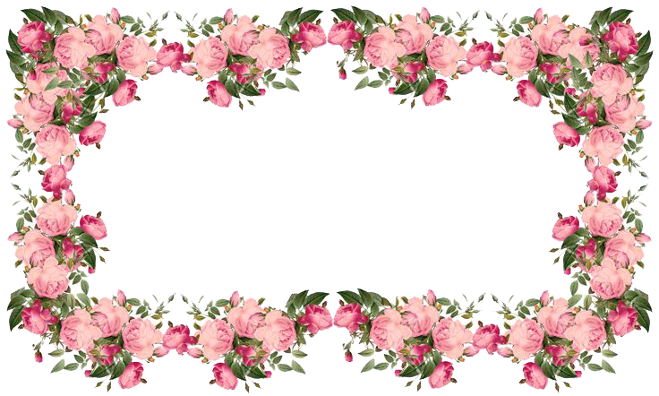 Free download flower border vector freeuse download Pink Floral Border PNG Free Download | PNG Arts vector freeuse download