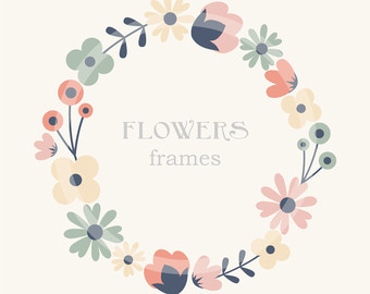 Free download flower border vector transparent download Rose Clip Art Flower Border Clip Art Frames Royalty Free vector transparent download