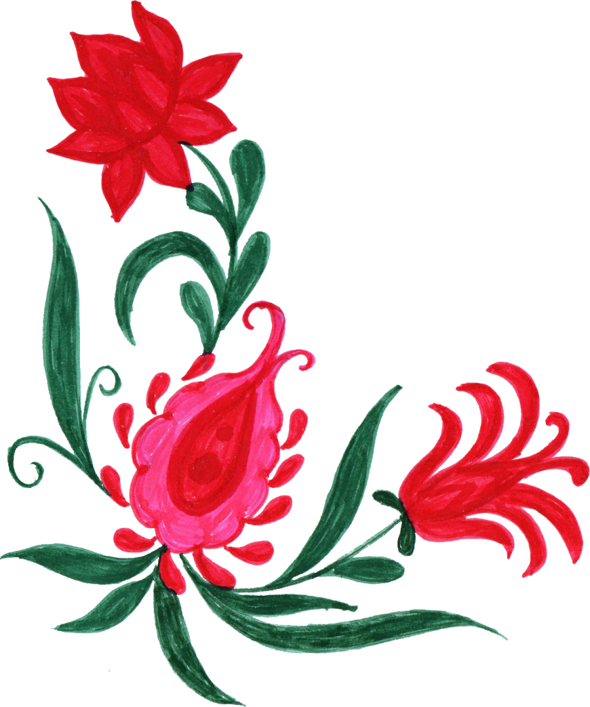 Free download flowers clipart transparent library 10 Colorful Flower Corner (PNG Transparent) | OnlyGFX.com clipart transparent library