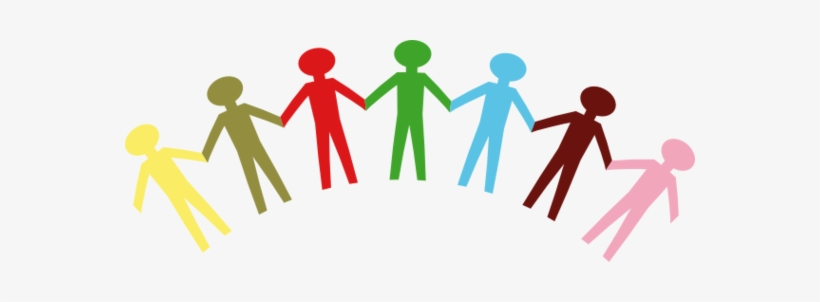 Free download stick people group holding hands clipart clipart royalty free stock People Holding Hand Group - Unity Clipart Transparent PNG - 570x222 ... clipart royalty free stock
