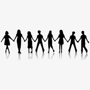 Free download stick people group holding hands clipart clip library stock Friends Clipart Transparent Background - People Holding Hands ... clip library stock
