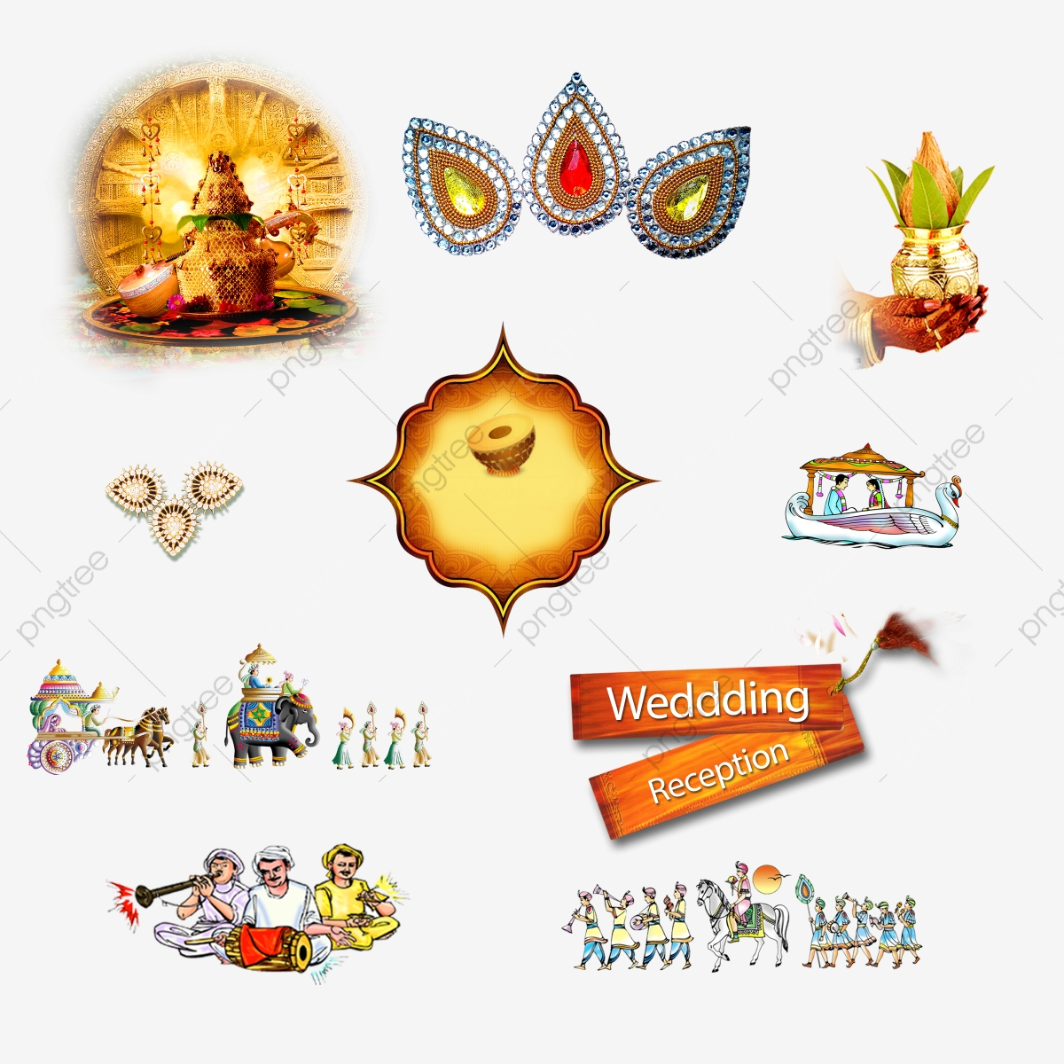 Free download wedding cliparts for photoshop psd files. Indian clipart png symbol